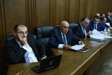 Joint session of the NA Standing Committees on Territorial Management and Local Self-Government, Agriculture and Environment, and Financial-Credit and Budgetary Affairs took place at the RA National Assembly - Photolure News Agency