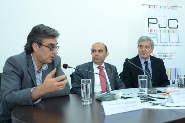 A press conference on the topic of ' The causes and consequences of the closure of the OSCE office in Yerevan' took place at the Media Center - Photolure News Agency