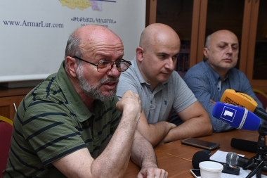 A press conference on the topic of 'Degradation sermon became a national security threat' took place at 'Hayq' center - Photolure News Agency