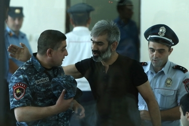 Hearings of 'Sasna Tsrer' group members took place at the Court of First Instance of Avan and Nor Nork Communities of Yerevan - Photolure News Agency