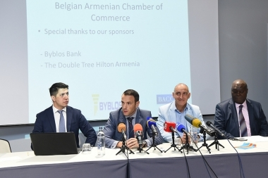B2B conference of the Armenian-Belgian Chamber of Commerce took place at DoubleTree by Hilton Hotel - Photolure News Agency