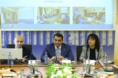 Implementation of the public transport's el. platform took place at the Yerevan Municipality - Photolure News Agency