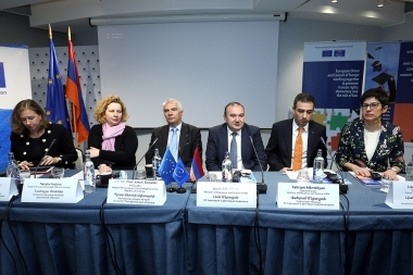 Presentation of the 'Strengthening of Better Governance and Anti-Corruption in the Higher Education System of Armenia' project's results took place at DoubleTree by Hilton Hotel - Photolure News Agency