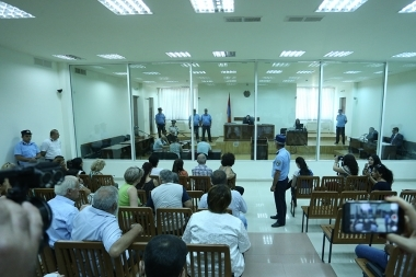 Hearings of Jirair Sefilian's case took place at the Court of General Jurisdiction of Shengavit Administrative District - Photolure News Agency