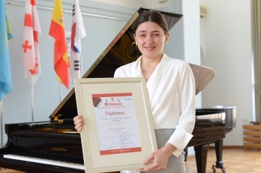 Awards ceremony of the 'Armenia' First International Competition took place at Aram Khachaturian House-Museum - Photolure News Agency