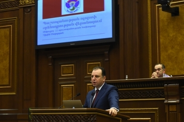 Inter-Parliamentary hearings on the topic of the 'New Regulations on Military Service' took place at the RA National Assembly - Photolure News Agency