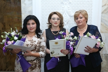 An event dedicated to the Teacher's Day took place at Arno Babajanyan Concert Hall - Photolure News Agency