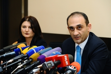 Chairman of the RA state Revenue Committee Vardan Harutyunyan gave a press conference - Photolure News Agency