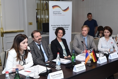 The launch of the 'Private Sector Development and Professional Education and Development in South Caucasus' program organized by GIZ took place - Photolure News Agency
