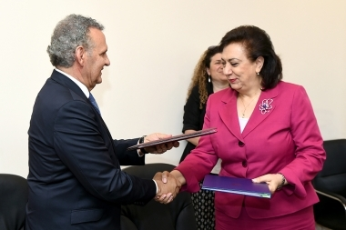A memorandum of understanding was signed between the RA Ministry of Diaspora and the Office of the Commissioner for Humanitarian and Foreign Affairs of Cyprus - Photolure News Agency