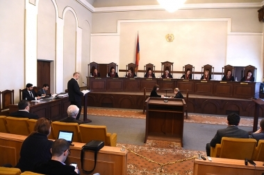 Hearings the case on 'The results of the elections to the National Assembly of Armenia on April 2, 2017' took place at the RA Constitutional Court - Photolure News Agency