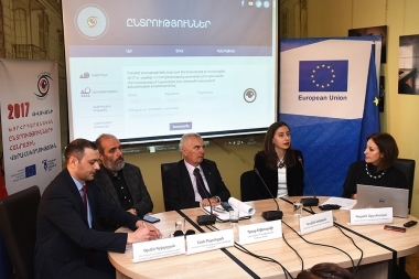 A press conference dedicated to the 'Citizen Observer' initiative's activity took place in '#Article3' press club - Photolure News Agency