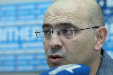 Candidate for the Chairman of the Cinematographers's Union Vahe Gevorgyants gave a press conference in Armenpress news agency - Photolure News Agency