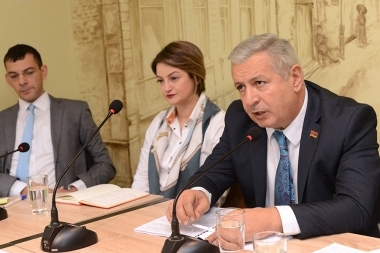 A public discussion on the topic of the 'Education funding reduction and new budget challenges' took place in 'Article 3' press club - Photolure News Agency