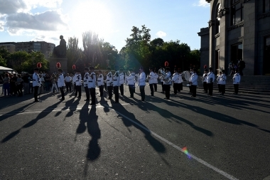 Concert of the Military Orchestra of the Ministry of Defense of Great Britain took place on Freedom Square - Photolure News Agency