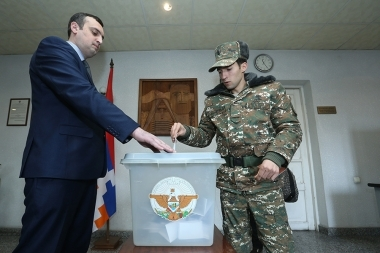 Constitutional referendum in the Nagorno-Karabakh Republic - Photolure News Agency