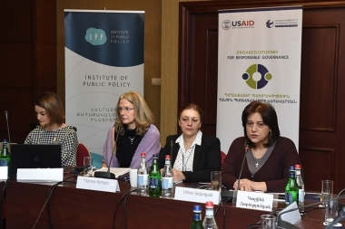 Presentation of the 'Corruption risk assessment in the education sector took place at Armenia Marriott Hotel - Photolure News Agency