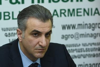 RA Minister of Agriculture Ignati Arakelyan and Deputy Regional Representative for Europe and Central Asia and FAO Representative in Armenia Raimund Jehle gave a joint press conference - Photolure News Agency