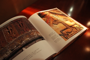 Photographer Hrayr Baze Khacheryan presented his new album entitled 'Khachkars' at Matenadaran - Photolure News Agency