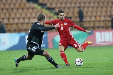 A friendly football match between Armenia and Belarus took place at Vazgen Sargsyan Republican Stadium - Photolure News Agency