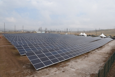 Opening ceremony of the largest solar power plant in Armenia ' Talin-1' took place in Talin, Aragatsotn Province - Photolure News Agency