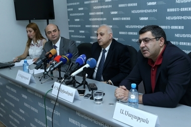 A press conference dedicated to the first engineering forum-exhibition in Armenia took place at Novosti Armenia press center - Photolure News Agency